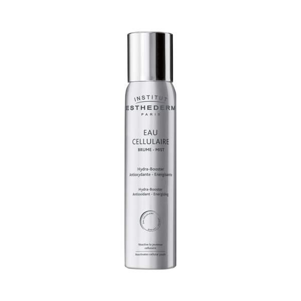 Eau Cellulaire Brume, Institut Esthederm, spray 200 ml, prix indicatif : 30 €