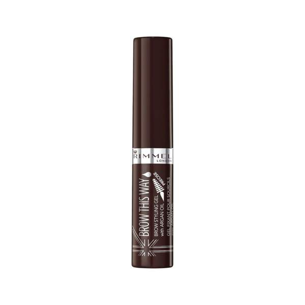 Brow This Way - Gel Fixant pour Sourcils avec Argan Oil, Rimmel, prix indicatif : 6,79 €