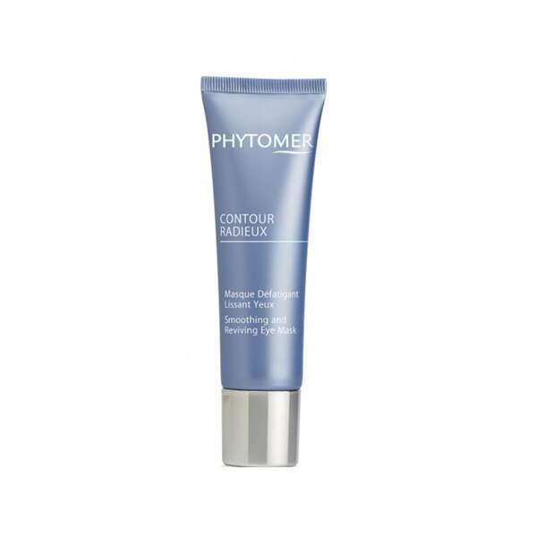 Contour Radieux - Masque Défatigant Lissant Yeux, Phytomer, tube 30 ml, prix indicatif : 41 €