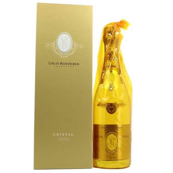 Champagne brut cuvée cristal : Louis Roederer