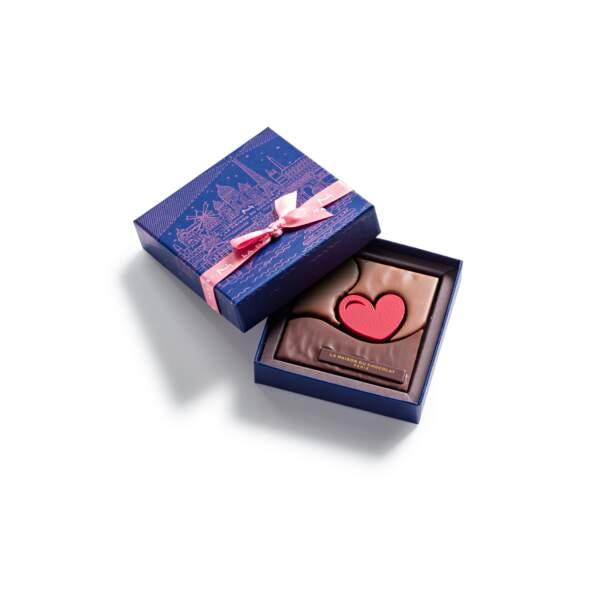 Coffret bouchée cœur : La Maison du Chocolat