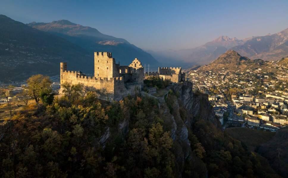 Le château de Tourbillon
