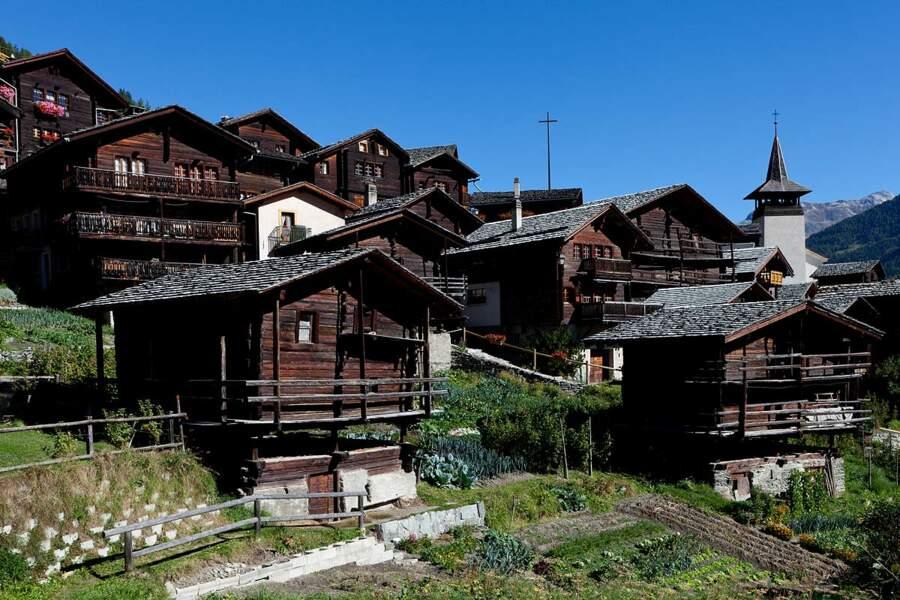 Le village de Grimentz