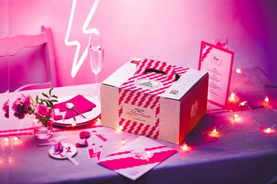 Box menu Saint-Valentin pour deux : Maison Thiriet