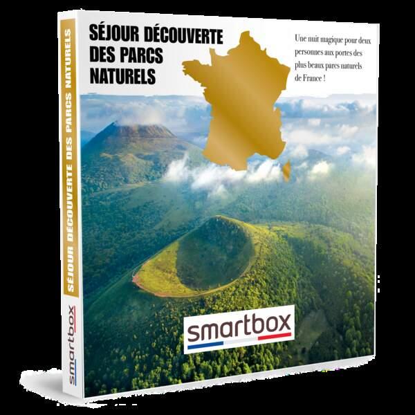 Séjour découverte des parcs naturels : SMARTBOX