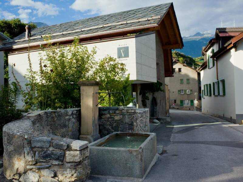 Le Musée de la vigne et du vin à Sierre