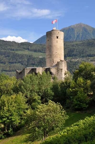 Le château de la Bâtiaz