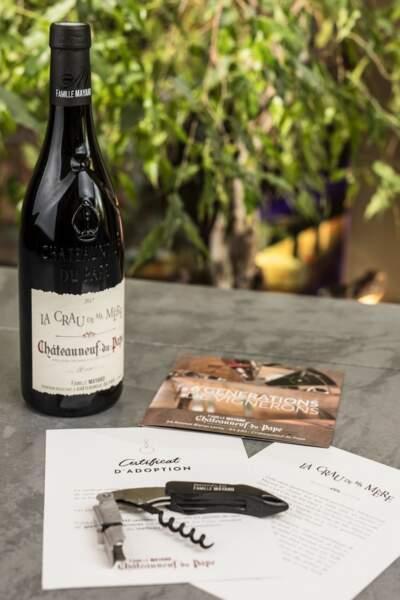 Adopter des pieds de vigne : Famille Mayard