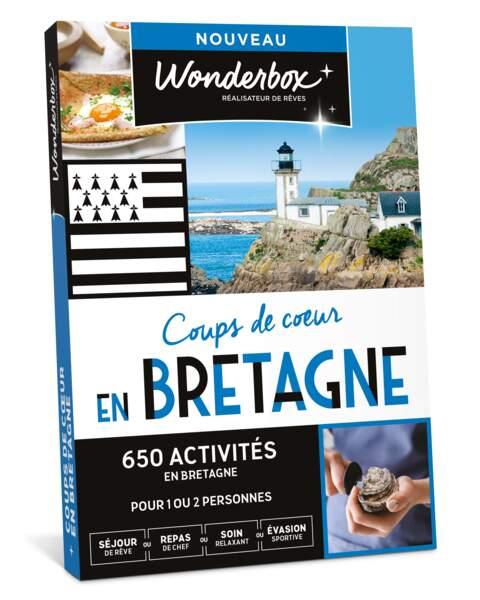 Coups de cœur en Bretagne : Wonderbox