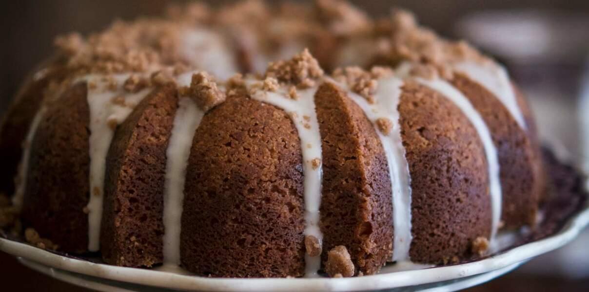 Gâteau au café et à la crème de marrons