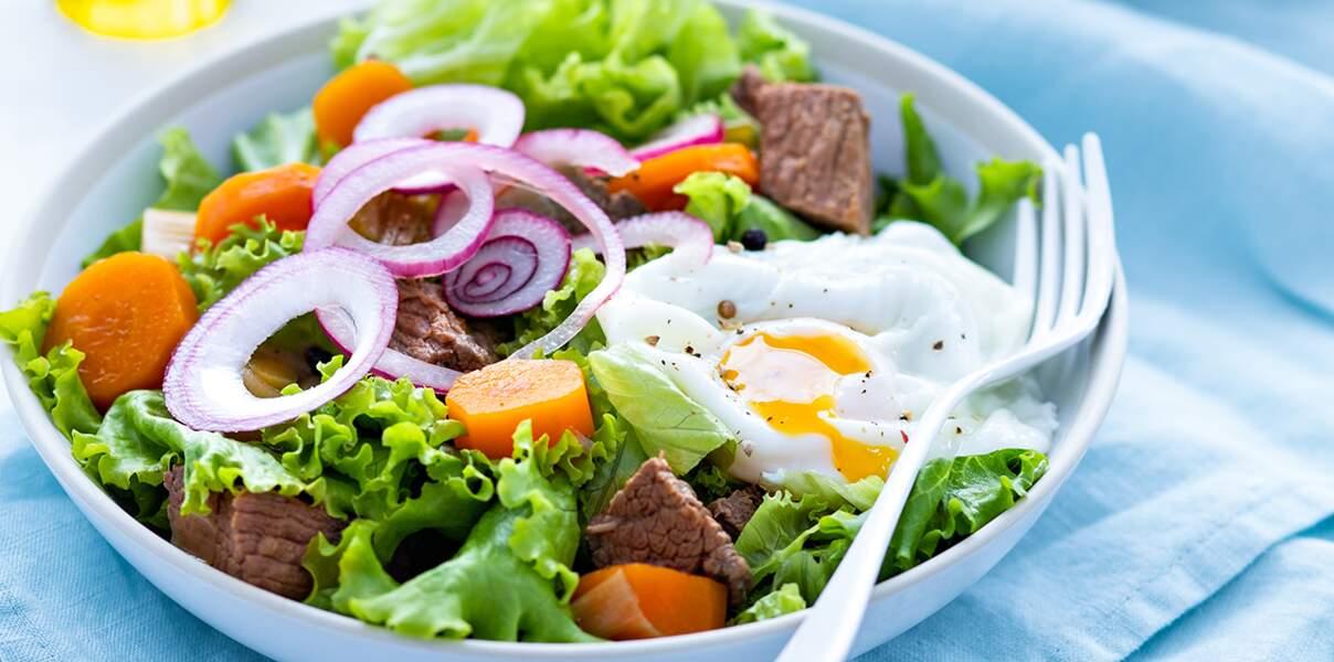 Salade de pot-au-feu du lendemain
