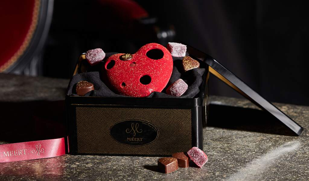 Cœur en chocolat - Meert