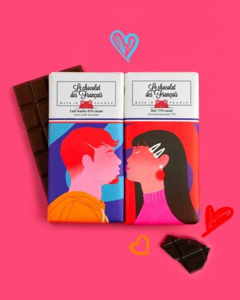 Tablettes Le Chocolat des Français