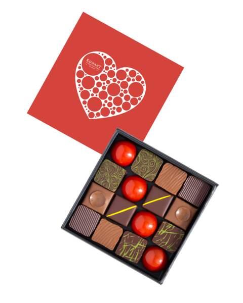 Coffret Saint Valentin - Edwart Chocolatier