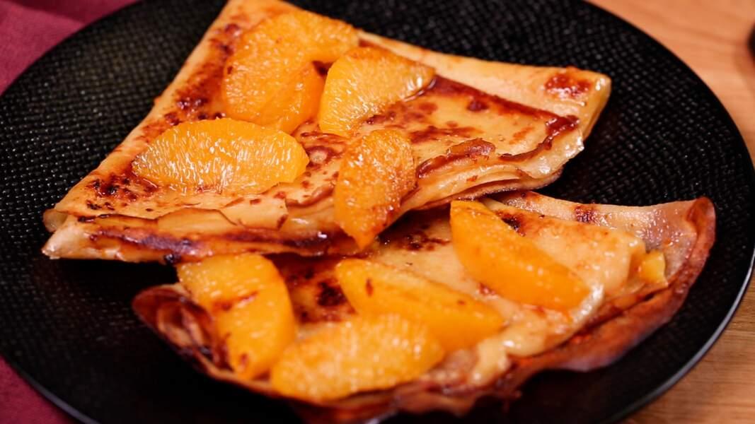 La vraie recette des crêpes Suzette de Cyril Lignac