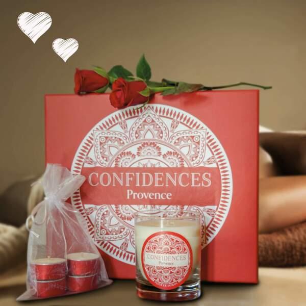 Bougies de massage : Confidences Provence