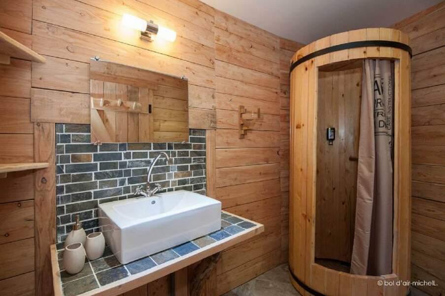 Cabane dans la Fôret dans les Vosges : Bol d'air