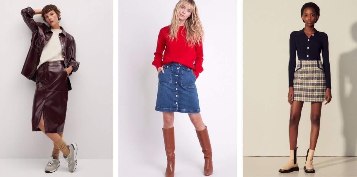Découvrez les plus belles nouveautés jupes de la saison
