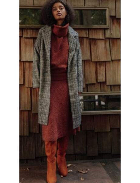 Jupes tendance : tricot