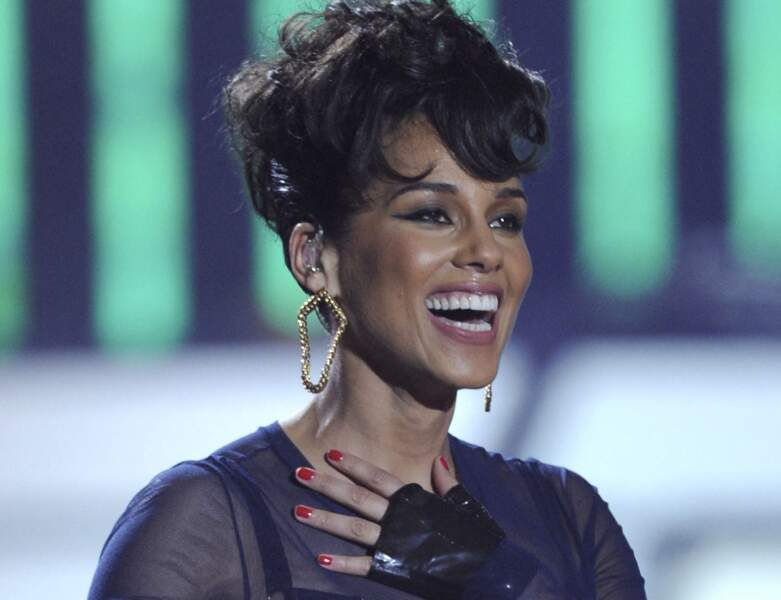 La coupe boule d'Alicia Keys