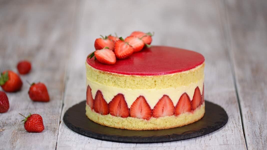 La recette du fraisier façon Cyril Lignac