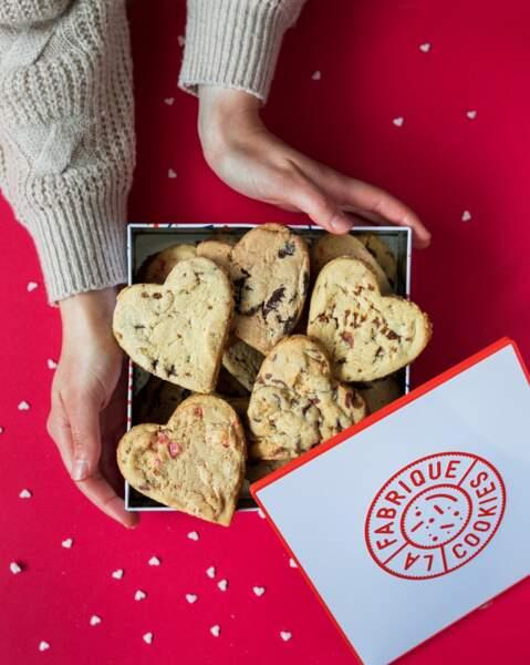 Coffret de biscuits - La fabrique Cookies