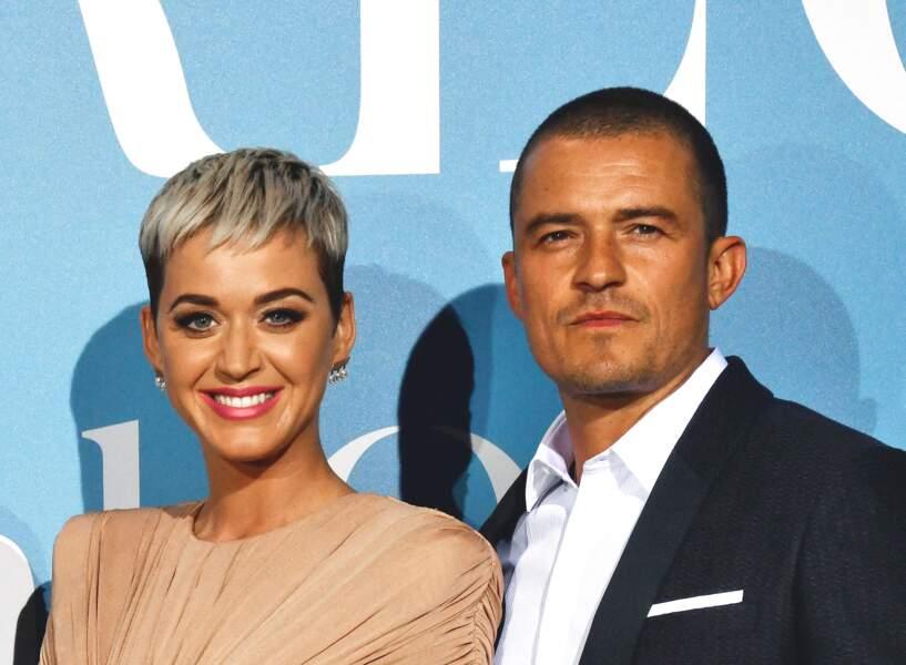 Katy Perry et son époux Orlando Bloom