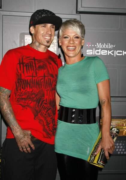 Carey Hart et son épouse Pink
