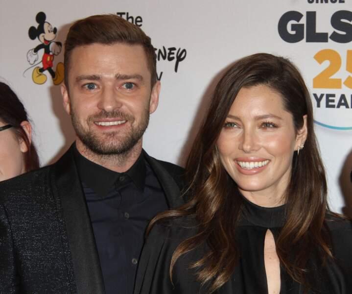 Justin Timberlake et sa femme Jessica Biel