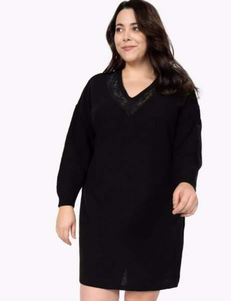 Mode ronde : la robe en maille courte