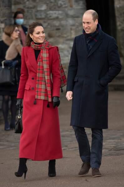 Kate Middleton et son époux le prince William