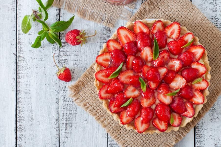 La recette de la tarte aux fraises revisitée de Cyril Lignac
