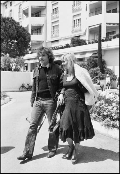 """Mais le couple ne dure pas. En 1975, lors du tournage du film """"D'amour et d'eau fraîche"""", de Jean-Pierre Blanc..."""