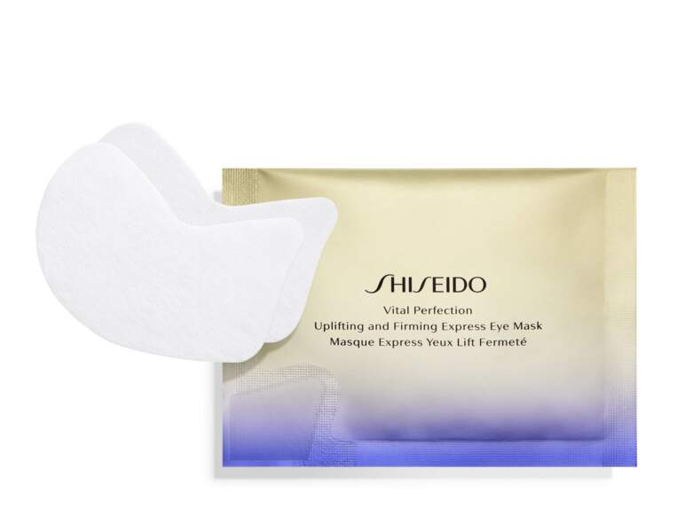 Lift Fermeté Vital Perfection Masque Express Yeux de Shiseido