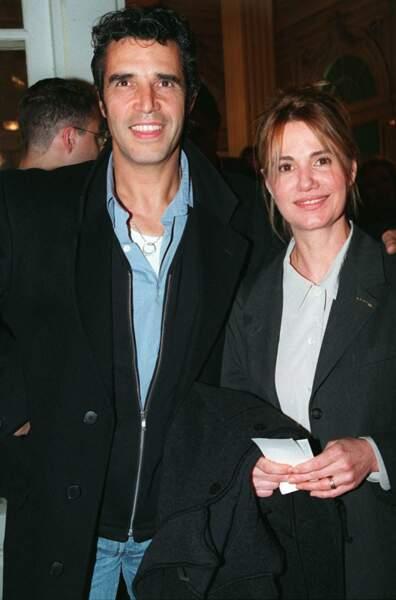 Ou encore, en 1995, lors d'une première au théâtre de Paris.