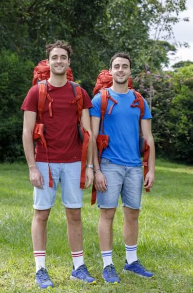 Pierre-Louis, 26 ans, et Arnaud, 24 ans.