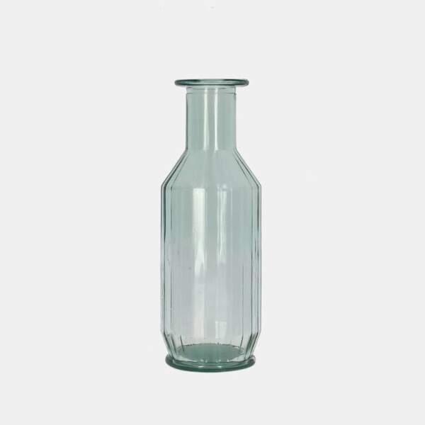 Carafon en verre recyclé