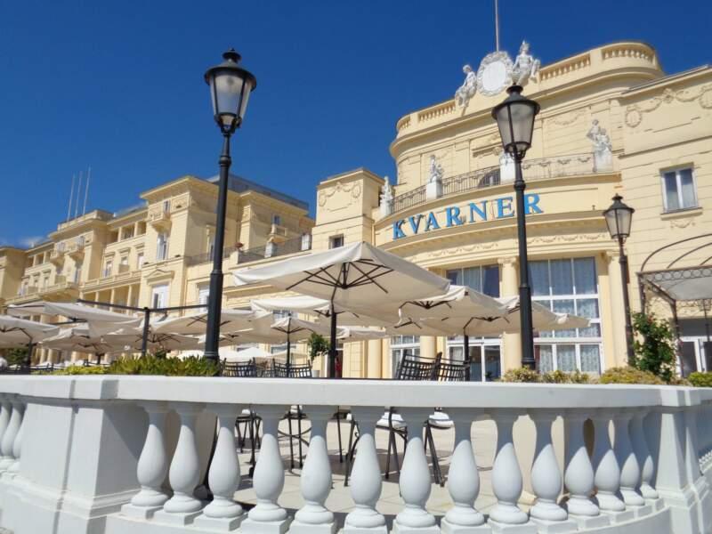 L'hôtel Kvarner à Opatija