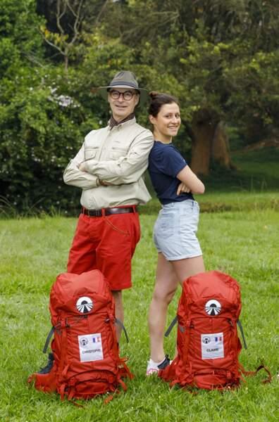 Christophe, 60 ans, et Claire, 28 ans.