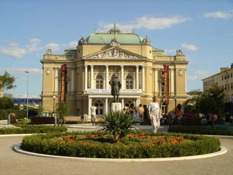 L'opéra de Rijeka