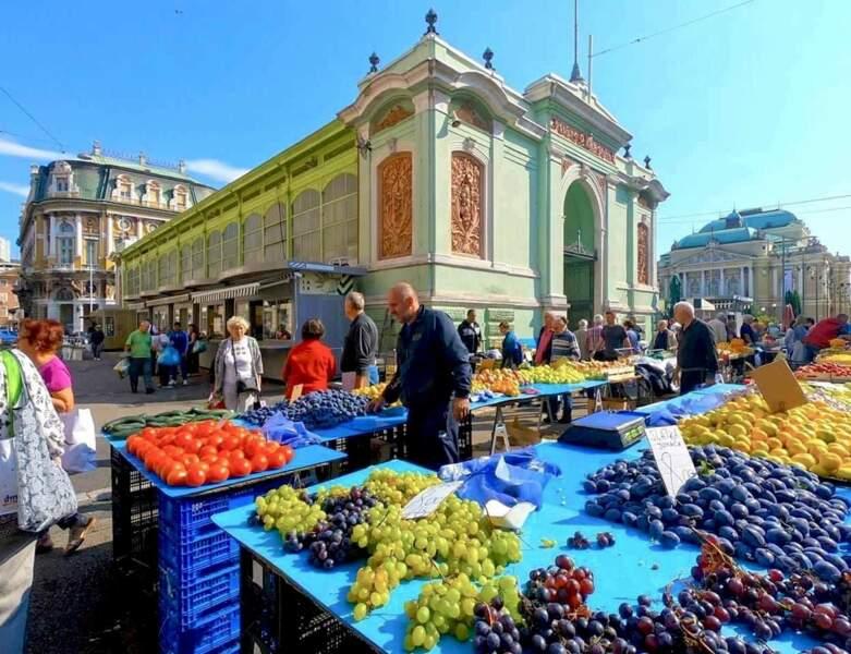 Le marché de Rijeka