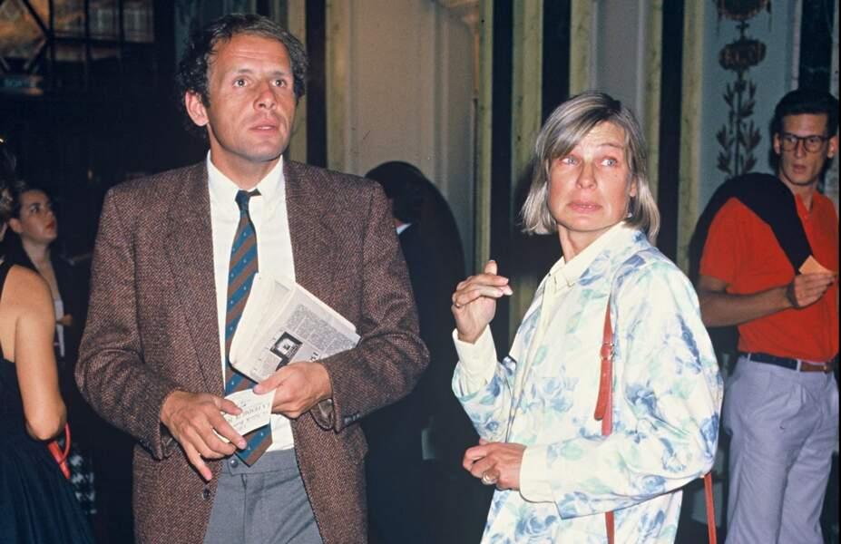 Patrick Poivre d'Arvor et son épouse Véronique Courcoux