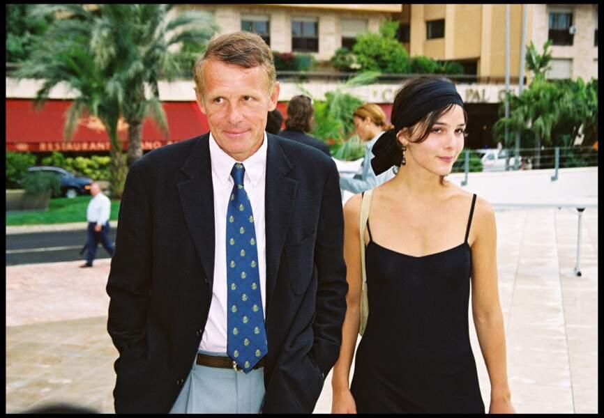 Patrick Poivre d'Arvor et Claire Castillon