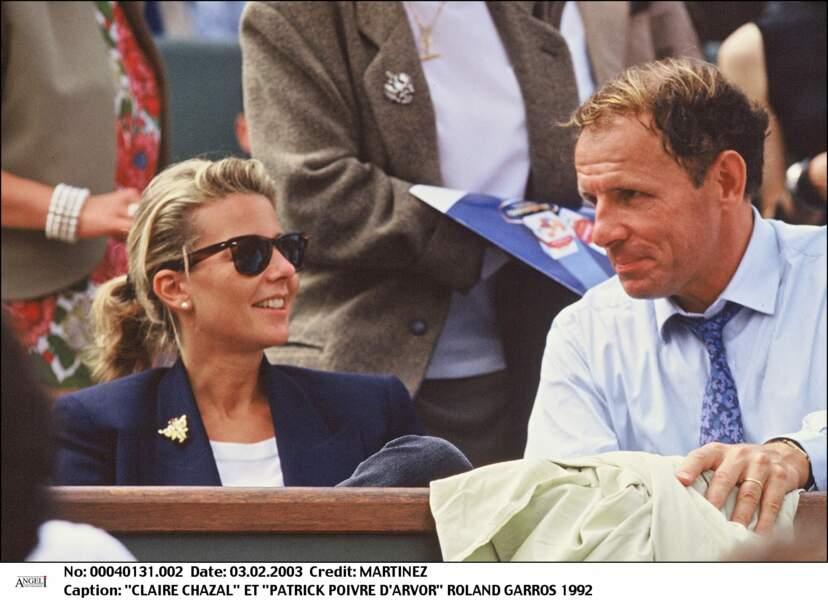 Patrick Poivre d'Arvor et Claire Chazal (1992)