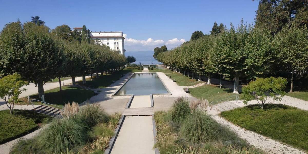 Le parc thermal de Thonon-les-Bains