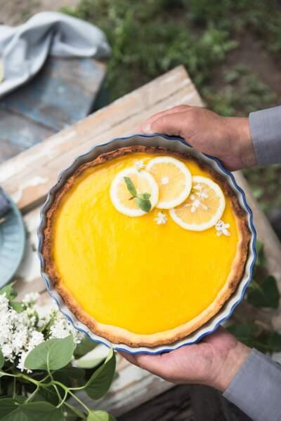 La recette de la tarte au citron revisitée de Christophe Michalak