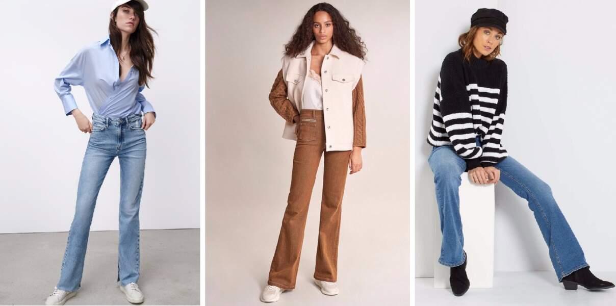 15 jeans flare et évasés parfaits pour sublimer toutes les morphologies