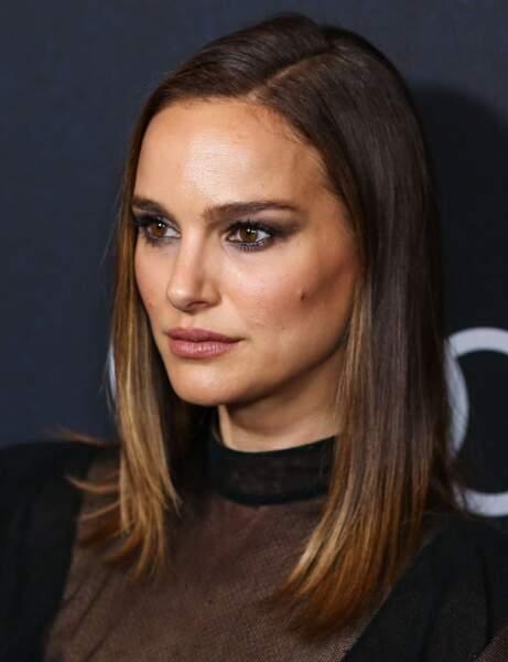 Le smoky-eyes de Natalie Portman