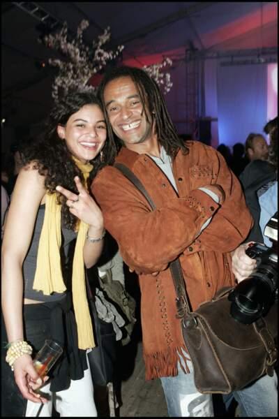 Yannick Noah et sa fille Yelena
