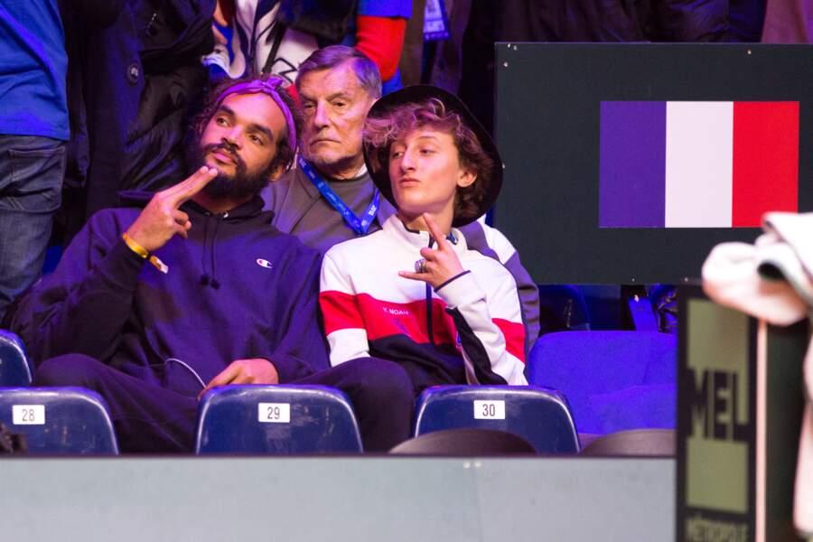 Joakim Noah et son dem-frère Joalukas